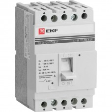 Автоматический выключатель ВА-99 125/16А 3P  25кА EKF PROxima