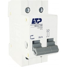 Выключатель нагрузки ВН32-100, 2Р 25А ETP