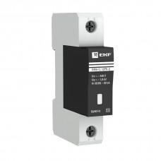 Ограничитель импульсных напряжений ОПВ-C/1P  In 20кА 400В с сигнализацией EKF PROxima