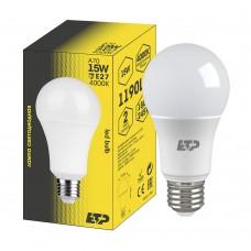 Лампа светодиодная A70 15W 4000K E27 ETP