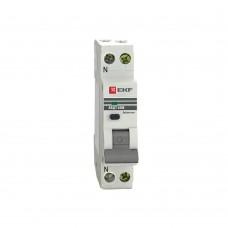 Дифференциальный автомат АВДТ-63М 25А/30мА  6кА (C) EKF PROxima