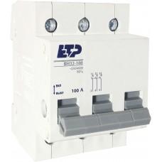 Выключатель нагрузки ВН32-100, 3Р 100А ETP