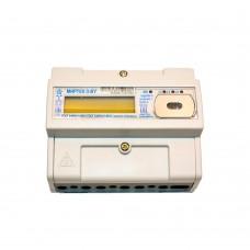 Счетчик электрической энергии трехфазный  многотарифный МИРТЕК-3-BY-D33-A1-230-5-10A-T-RS485-OQ2V3