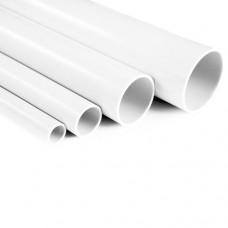 Труба ПВХ жесткая 40 мм (3м) белая