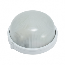 Светильник НПП 6002S (HPL007S) 60W/220V IP54, круг белый  ETP