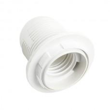Патрон Е27 с прижимным кольцом пластик ETP
