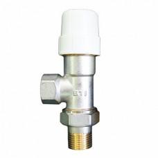 Термостатический клапан осевой 3/4 STI