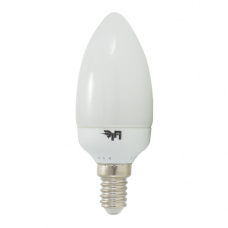 Лампа люминесцентная CDL 9W 230V 2700K E14 (candle)  ETP