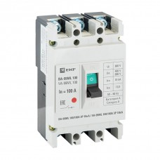 Автоматический выключатель ВА-99 МL 100/100А  3P 18кА EKF Basic